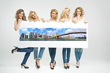 Canvas Print Picture-The Freedom Tower and  Lower Manhattan Panoramic Unframed