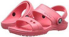 Crocs Classic Sandal Girls Shoes Size 8 or 9 Coral NWT