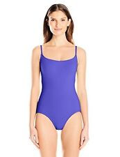 Anne Cole Women's Classic Maillot Solid One Piece Swimsuit - Choose SZ/Color