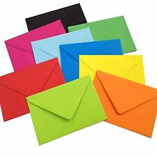 C5 Coloured Envelopes for Greeting Cards A5 / Craft Invitations Wedding