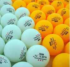 New 100Pcs 3-Stars 40mm Olympic Table Tennis Ball Pingpong Balls Orange  White#1