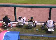 FIRST ROW ABOVE VISITOR'S BULLPEN, 2 ST LOUIS CARDINALS v METS TICKETS, 7/9