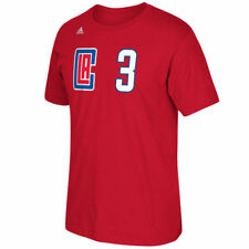Los Angeles Clippers Chris Paul Adidas NBA New Logo Player T Shirt Red