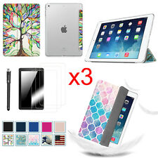 Bundle for Apple iPad Tablet Case Translucent Frosted Back Cover Smart Shell
