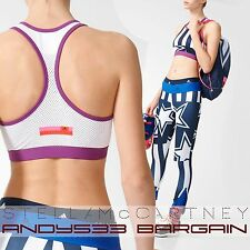 adidas Stella McCartney STELLASPORT Sports Bra Crop Top Climalite® Womens XS S M