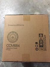 Bowers And Wilkins CCM684 In Ceiling Speakers. New. Pair B&W