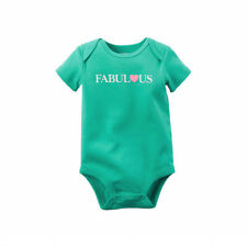 Carters Fabulous Bodysuit One Piece Cotton Everyday Baby Girl Size 3 9 Months