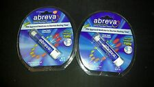 (2) Abreva Pump Cold Sore Treatment 2gm (.07 oz) NEW SEALED FACTORY PACK