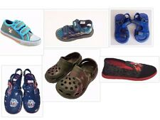 Boys Summer Canvas Shoes, Jelly Shoes, Clogs & Sandals UK Infant 4 to UK Size 1