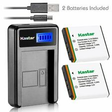 KLIC-7001 Battery&LCD Slim Charger for Kodak EasyShare M763, M853 Zoom, M863