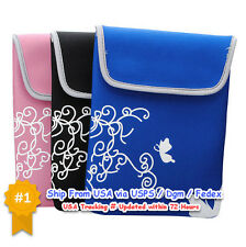 Neoprene Sleeve Case Bag Soft Pouch Apple For iPad 2 Galaxy Tab 10 Inch Tablet
