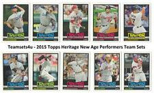 2015 Topps Heritage New Age Performers Baseball Set ** Pick Your Team **