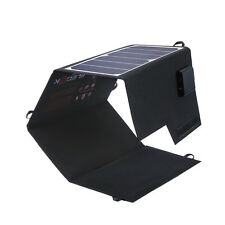 26W Solar Portable Solar Charger Pack Kit Folding Solar Panel Panel Charging Bag
