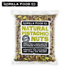 Gorilla Food Co. California Pistachios Shelled Raw Kernels Unsalted