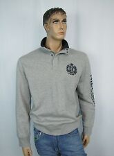 Tommy Hilfiger mens sweater Msweatshirts Wilford half zip snap size S NEW