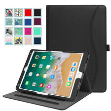 For Apple iPad Pro 10.5 Case Multi-Angle Viewing Folio Stand Cover with Pocket