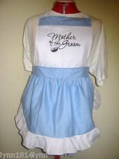 MOTHER OF THE GROOM PARTY APRONS for Bridal Showers Made to order most colour
