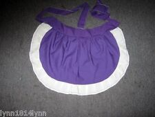 Personalised 1/2 Aprons Made to order Avaiable most colors with various trim M2O
