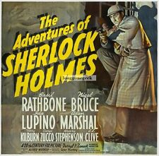 The Adventures Of Sherlock Holmes 1939 movie Rathbone GICLEE ART PRINT POSTER