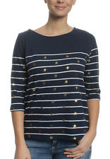 Superdry Raglan T-shirt Women CONVERSATIONAL BRETON TOP Stripe Star