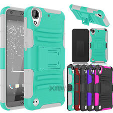 Hybrid Shockproof Hard Holster With Clip Cover For HTC Desire 530/550 Phone Case