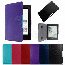 Ultra Slim Smart Magnetic Leather Case Cover for Amazon Kindle Paperwhite/Kindle
