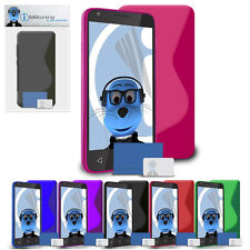 TPU Slim Thin Gel Case Cover & Screen Protector for Samsung S3650 Genio Touch
