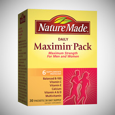 Nature Made Daily Maximin Pack - 30 Packets