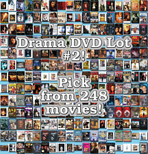 Drama DVD Lot #2: 248 Movies to Pick From! Buy Multiple And Save!