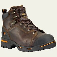 "Timberland Pro Boots Mens Endurance 6"" Steel Toe Brown Work Boot 52562"