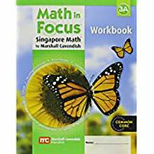 Math In Focus: The Singapore Approach  Student Workbook, Book 3a: By Various