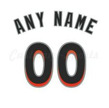 Baseball Miami Marlins Home White Jersey Customized Number Kit un-stitched