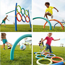 New Fun Swimming Hollow Flexible Swim Pool Noodle Water Float Aid Woggle Noodles