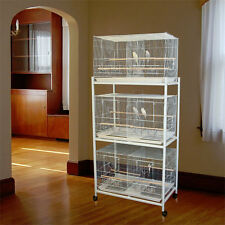 "Bali Bungalow™ Breeding Bird Cage - 30""W x 18""D x 18""H - Many Cage Options!"
