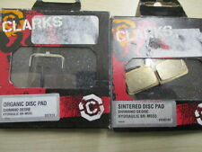 clarks shimano deore hydraulic br m555 organic or sintered disc brake pads