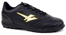 Mens New Black Gola Astro Turf Lightweight Lace Up Football Trainers Shoes Size