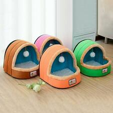 Cat Bed Pet Dog Soft House Fleece Mat Cushion Warm Kitty Small Puppy Large Toy