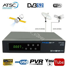 Digital HD MPEG-4 DVB-S2 Satellite Receiver + Local ATSC Combo TV Tuner Youtube