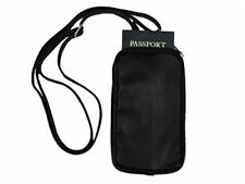 Be Safe Bags Anti-Theft RFID Multi-Compartment Passport Zipper Wallet