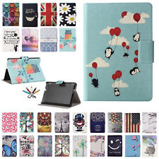 Painted Smart Flip Leather Wallet Case Cover For Amazon Kindle Paperwhite 1 2 3
