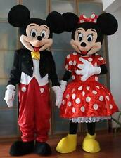 Hot Sale Mickey and Minnie Mouse Adult Mascot Costume Party Clothing Fancy Dres