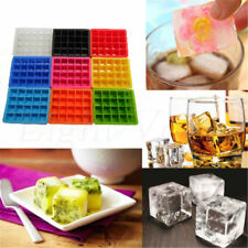 20-Cavity Large Cube Ice Pudding Jelly Soap Maker Mold Mould Tray Silicone 54