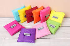 Foldable Friendly Reusable Nylon Eco Storage Travel Shopping Tote Grocery Bags
