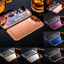 Colored Mirror Tempered Glass Film Screen Protector for iPhone 5 5S 6 7 Finest