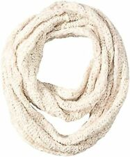 Jessica Simpson Women's Lurex and Marled Yarn Textured Knit Enternity Scarf