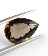 Wholesale Lot Natural Smoky Quartz Pear Shape 6x8mm Normal Cut Loose Gemstone