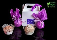 Bath Bomb Gift Set 4 Lush Highly Scented Luxury boxed Pamper Handmade Gifts