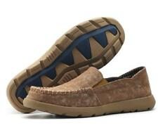 Plus Size UK6-10.5 Canvas Pull On Deck Boat Shoes Mens Casual Lightweight Shoes
