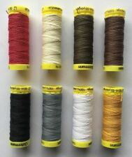 Gutermann Strong Linen Thread 50m Reel Sewing Repair Upholstery Leather Mending