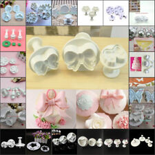 Various Style Chocolate Fondant Cake Mold Cookie Pastry Jelly Cutter  Mould DIY